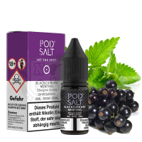 POD SALT Blackcurrant Menthol Nikotinsalz 20mg 10ml