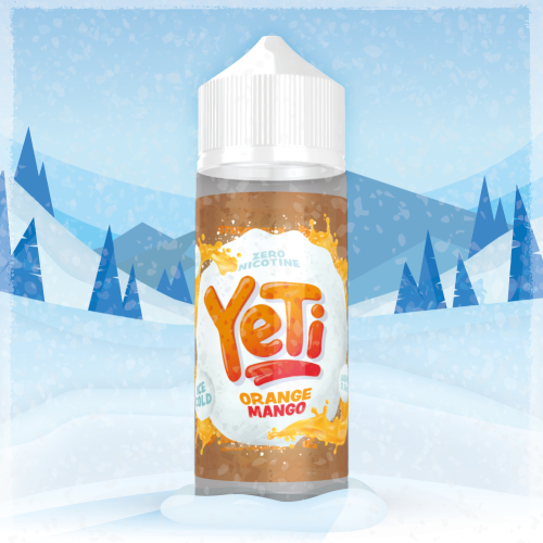 Yeti Orange Mango 100ml / 120ml Shortfill Liquid