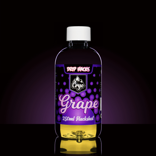 Drip Hacks Cryo Grape 250ml Hackshot